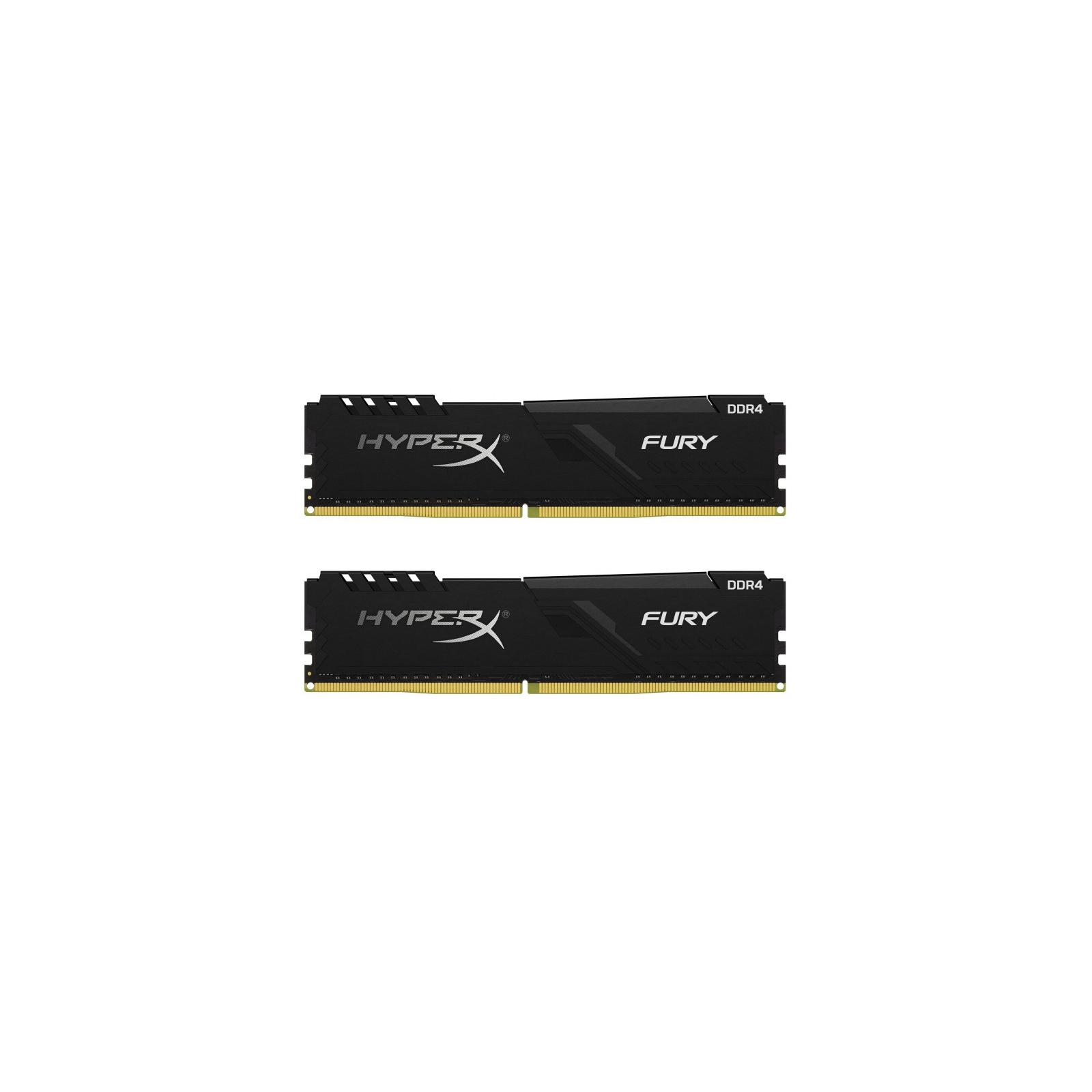 Модуль памяти для компьютера DDR4 64GB (2x32GB) 3000 MHz HyperX Fury Black Kingston (HX430C16FB3K2/64)