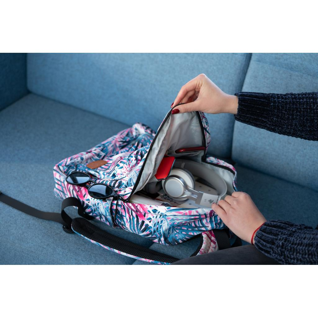 "Рюкзак для ноутбука 2E 13"" TeensPack Absrtraction, grey (2E-BPT6114GA) зображення 11"