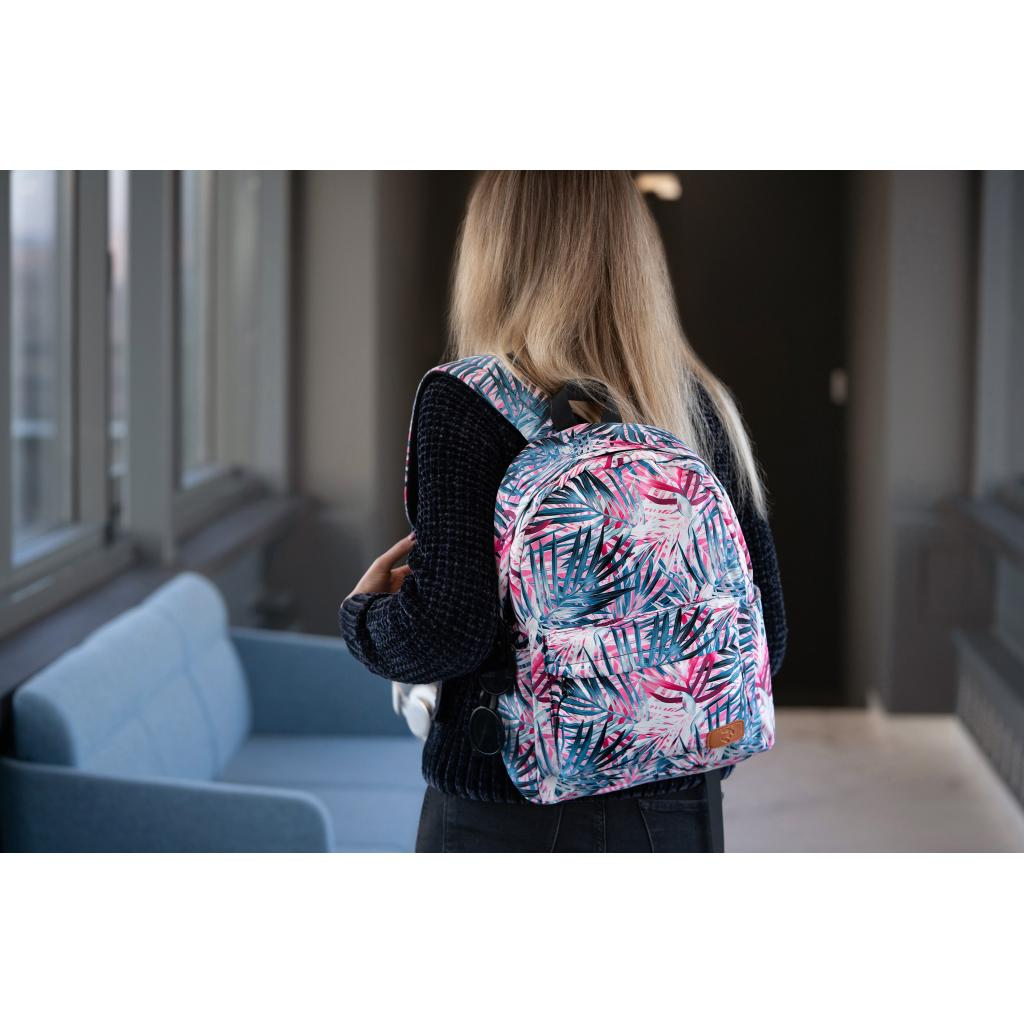"Рюкзак для ноутбука 2E 13"" TeensPack Absrtraction, grey (2E-BPT6114GA) зображення 9"