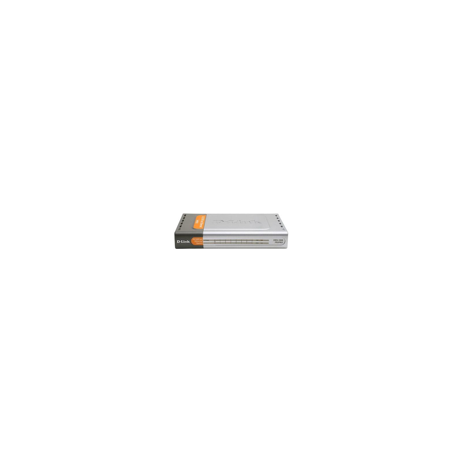 Коммутатор сетевой D-Link DES-1008FR/PRO