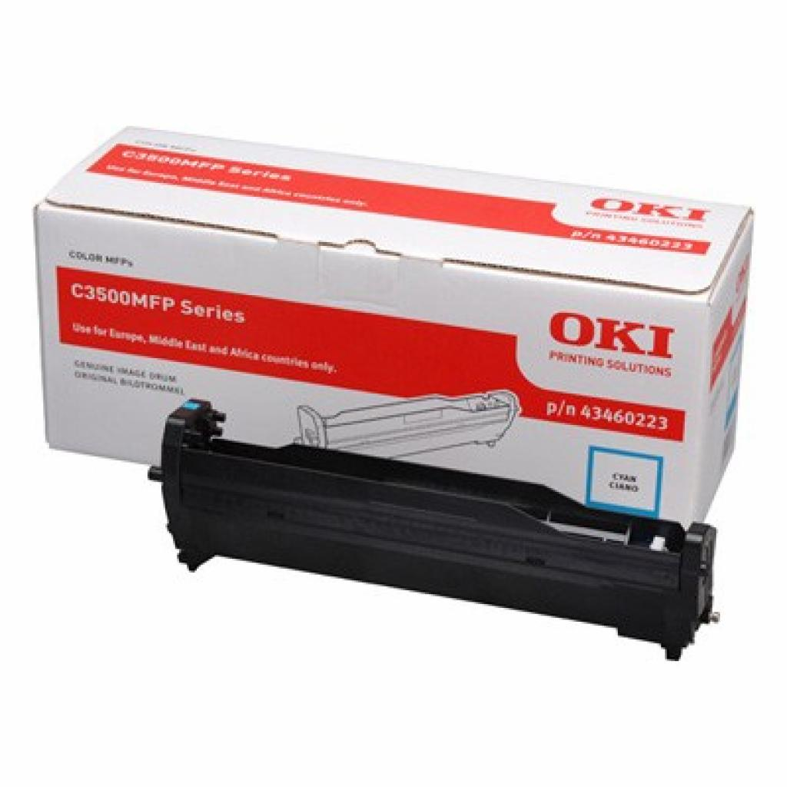 Фотокондуктор OKI C3520MFP/3530MFP/MC350/360 Cyan (43460223)