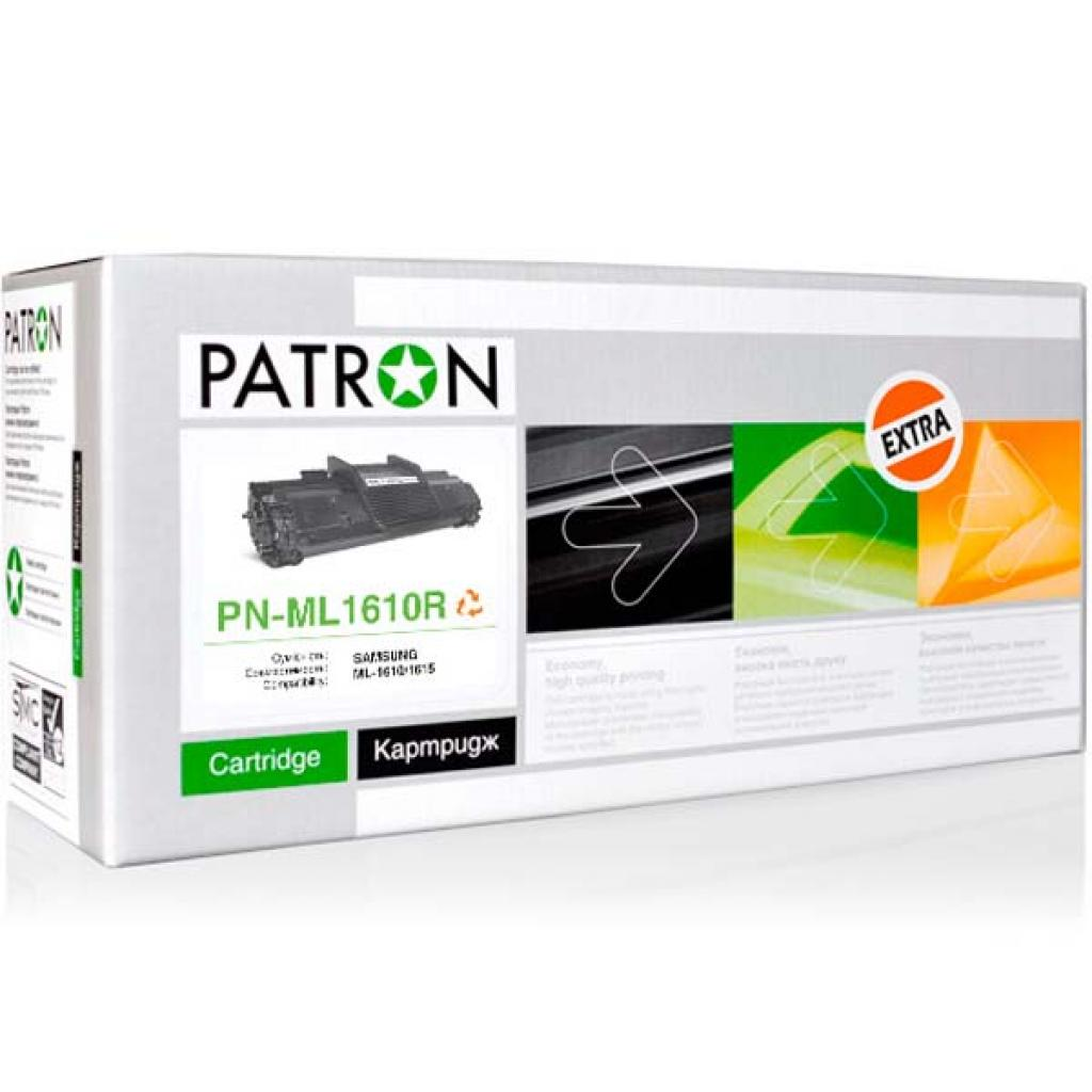 Картридж PATRON SAMSUNG ML-1610D2 Extra (PN-ML1610R) изображение 2