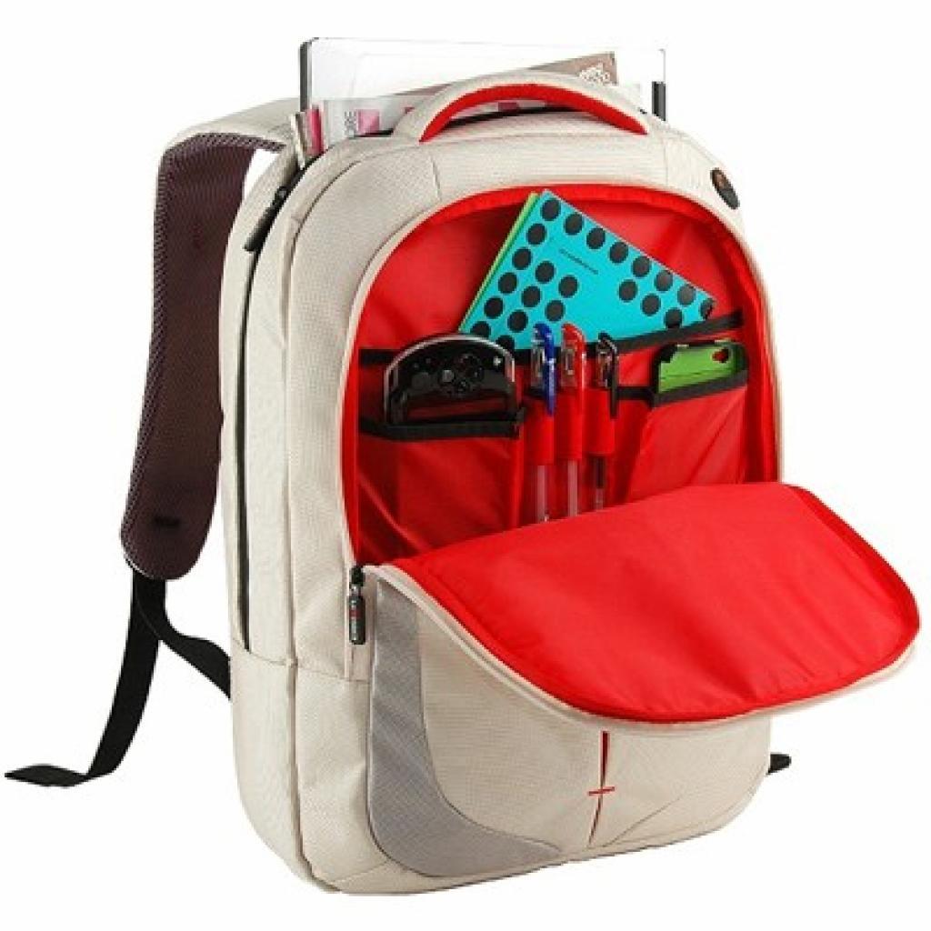 Рюкзак для ноутбука Crown 15.6 Genuine white (BPG4415W) изображение 2