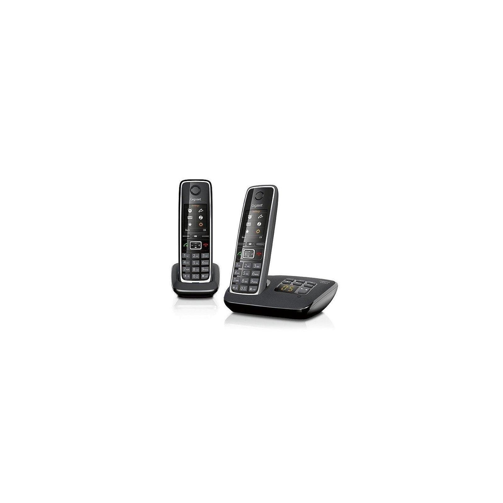 Телефон DECT Gigaset C530A Duo Black (L36852H2532S301)