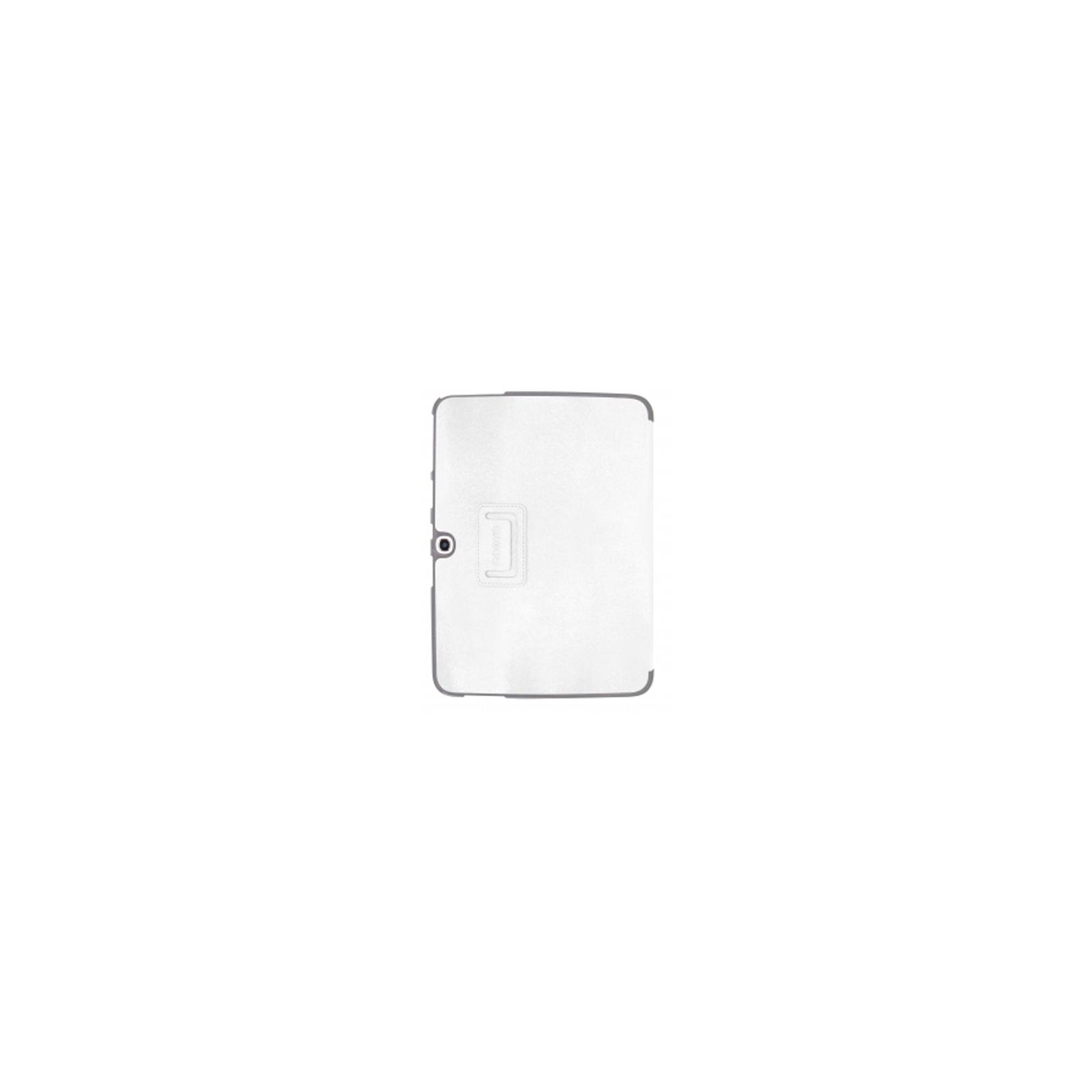 Чехол для планшета ODOYO Galaxy TAB3 10.1 /GLITZ COAT FOLIO COTTON WHITE (PH625WH) изображение 2