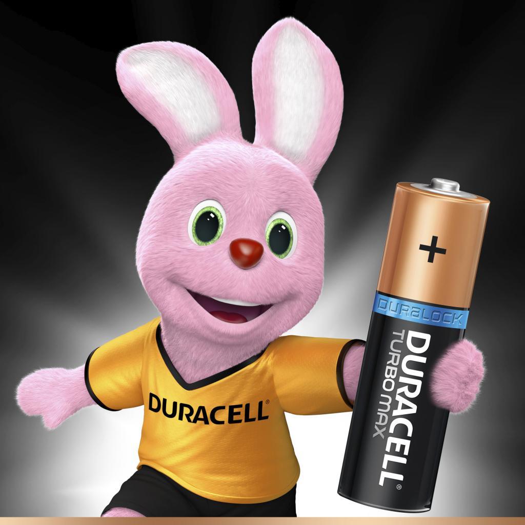 Батарейка Duracell AA TURBO MAX LR06 MN1500 * 8 (5000394011199 / 81480376) изображение 2