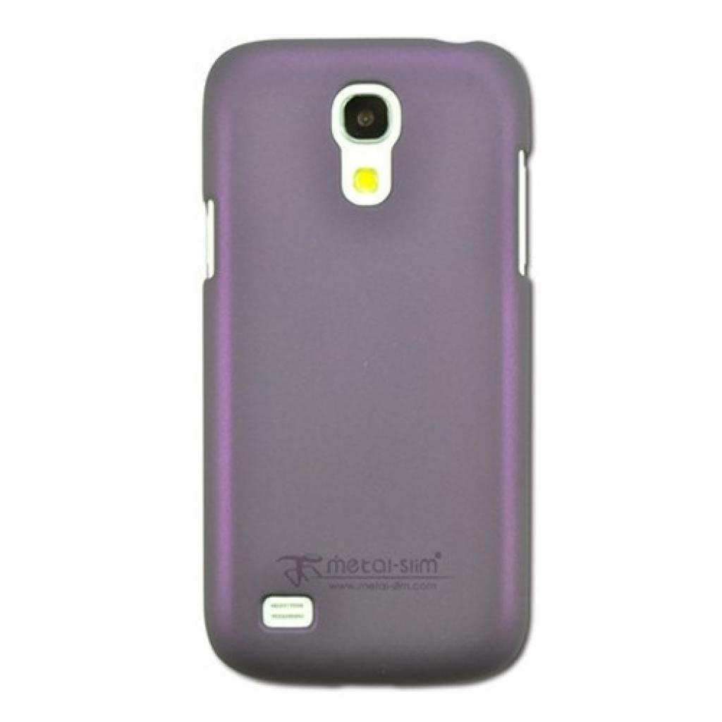 Чехол для моб. телефона Metal-Slim Samsung I9190 S4Mini /Rubber Purple (C-K0021MR0011)