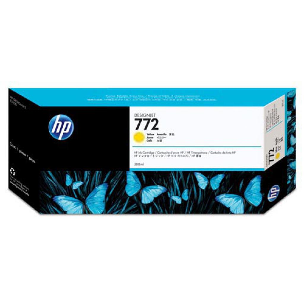 Картридж HP DJ No.772 Yellow Designjet Z5200 300 ml (CN630A)