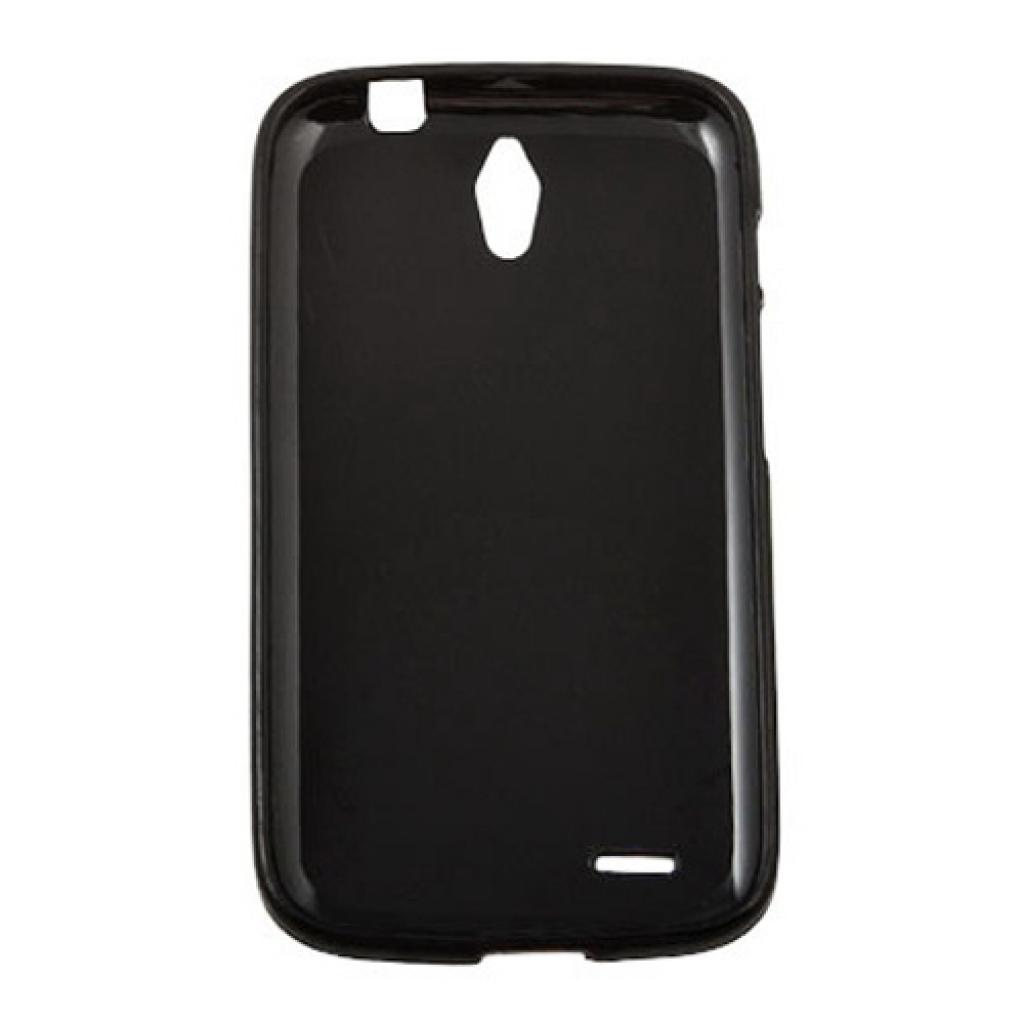 Чехол для моб. телефона для Huawei G610 (Black) Elastic PU Drobak (218404) изображение 2