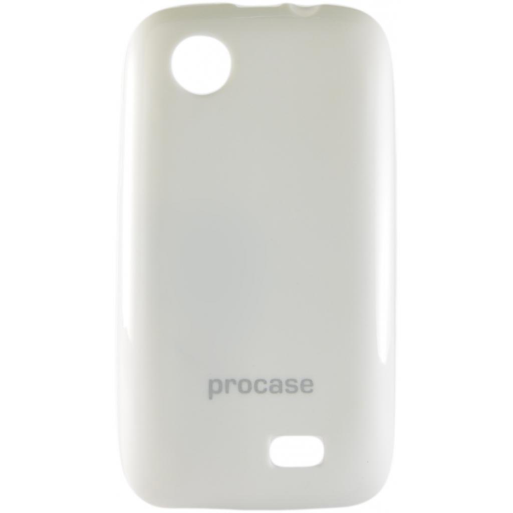 Чехол для моб. телефона Pro-case Lenovo A369 white (PCTPULenA369Wh)