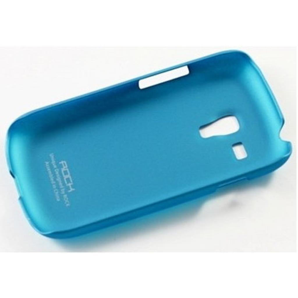 Чехол для моб. телефона Rock Samsung Galaxy S Mini I8190 naked shell series blue (SS I8190-44726) изображение 2