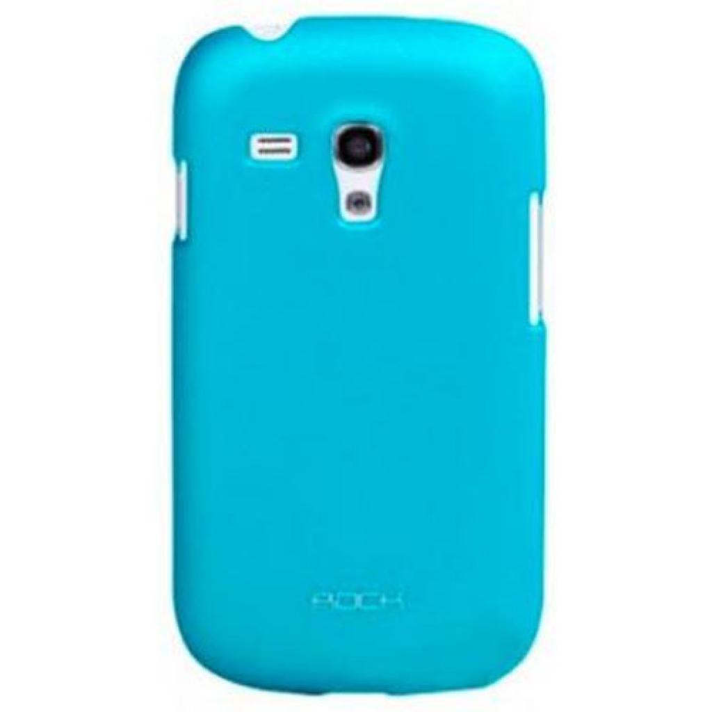 Чехол для моб. телефона Rock Samsung Galaxy S Mini I8190 naked shell series blue (SS I8190-44726)