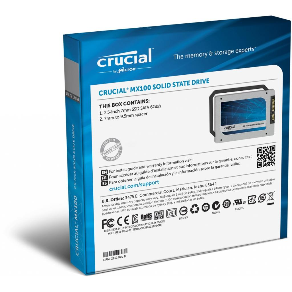 """Накопитель SSD 2.5"""" 256GB MICRON (CT256MX100SSD1_OEM) изображение 5"""