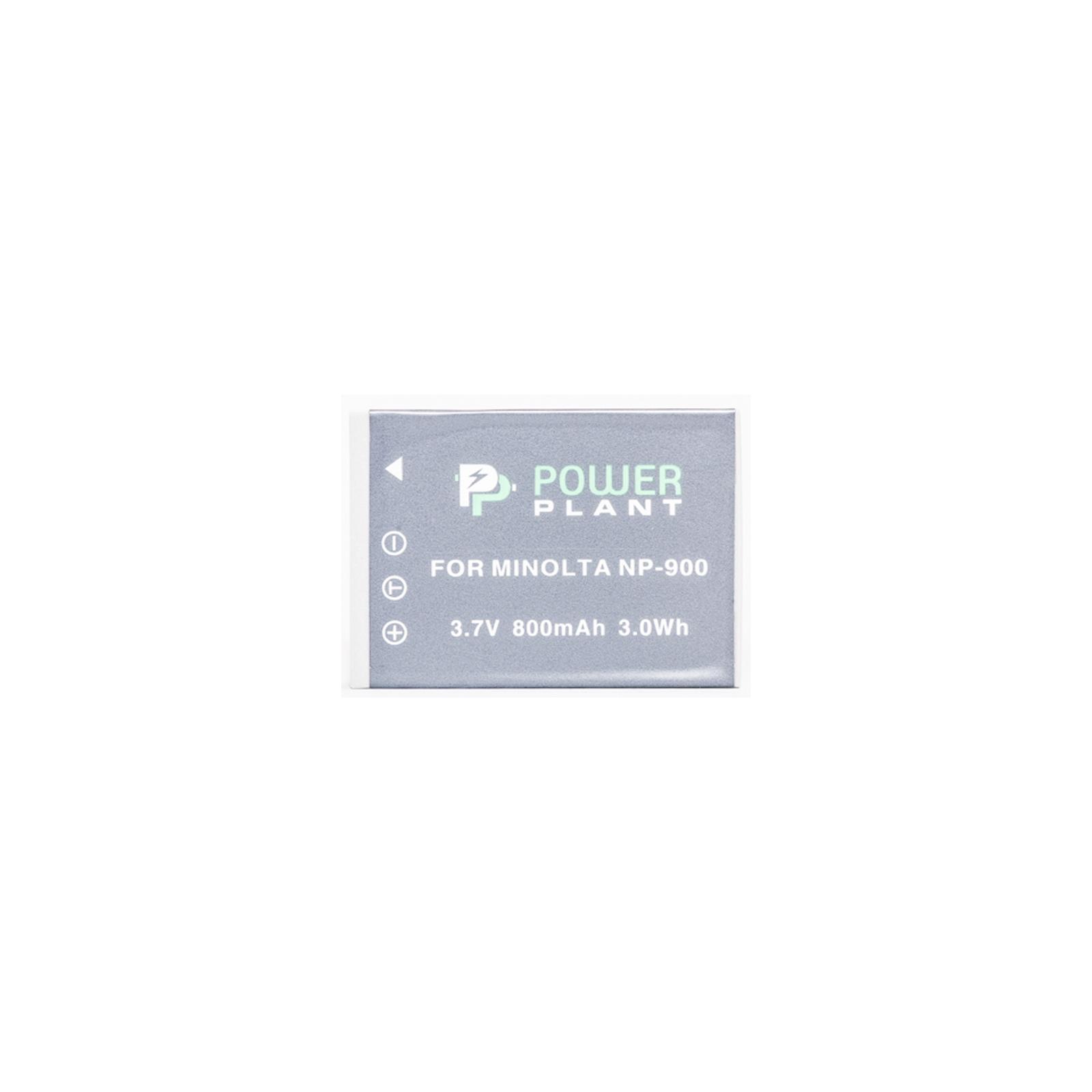 Аккумулятор к фото/видео PowerPlant Minolta NP-900,Li-80B (DV00DV1070) изображение 2