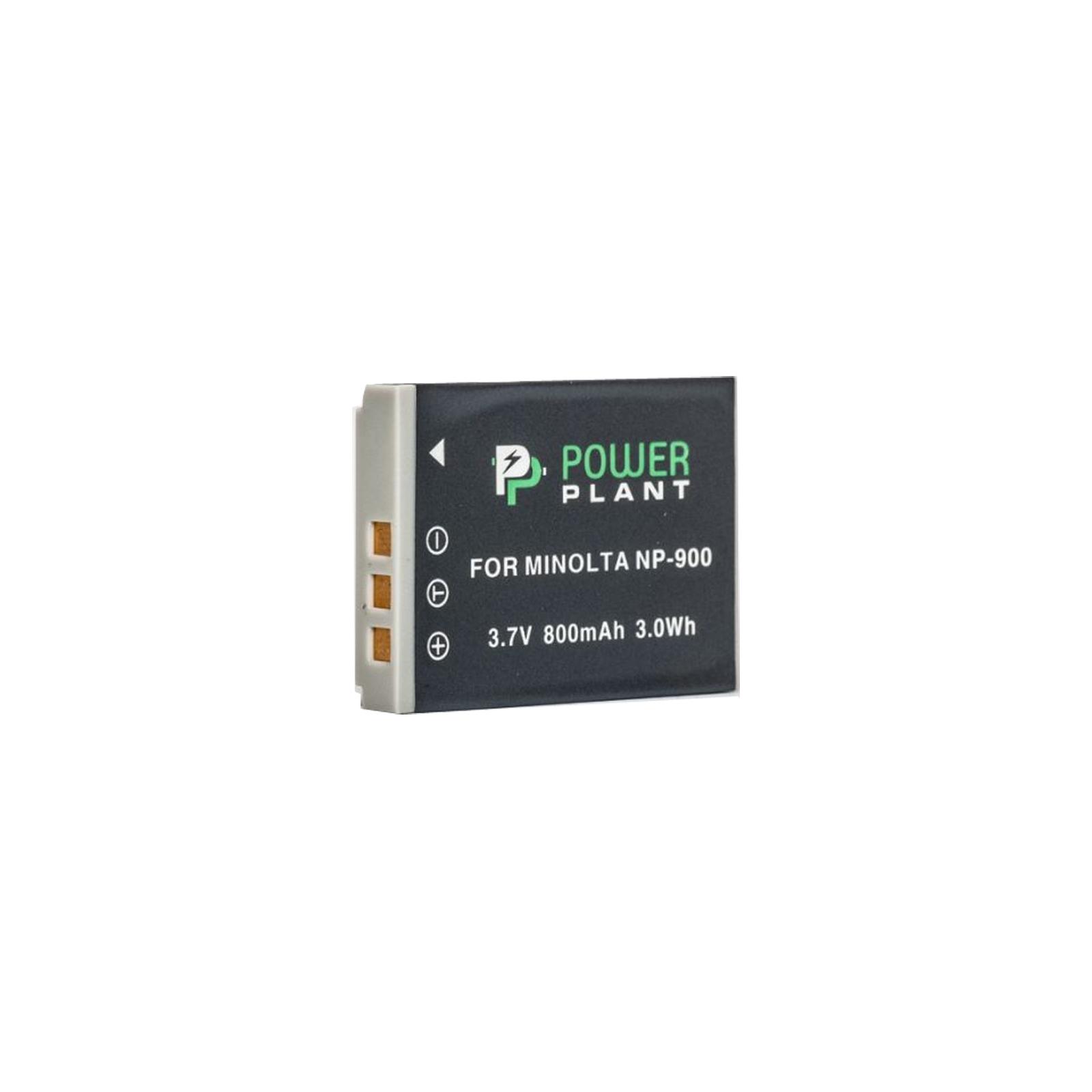 Аккумулятор к фото/видео PowerPlant Minolta NP-900,Li-80B (DV00DV1070)