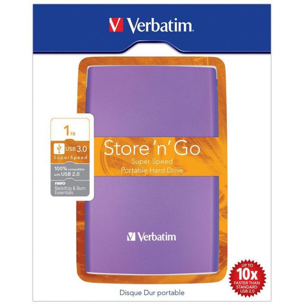 """Внешний жесткий диск 2.5"""" 1TB Verbatim (53077) изображение 8"""