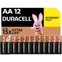 Батарейка Duracell AA MN1500 LR06 * 12 (5000394006546 / 81551275)