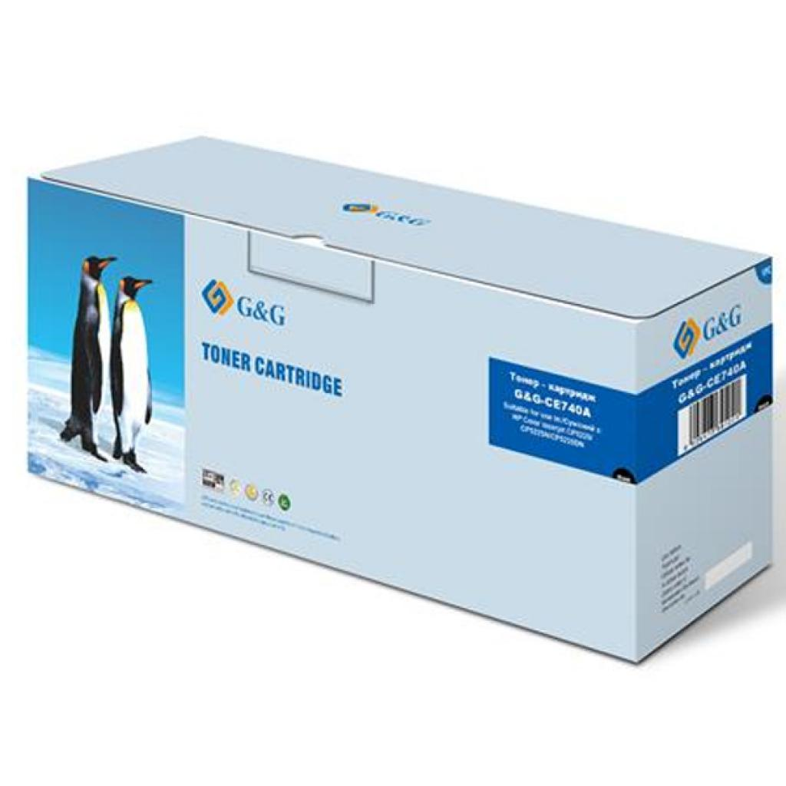 Картридж G&G для HP Color LJ CP5225/CP5225N/ CP5225DN Black (G&G-CE740A)