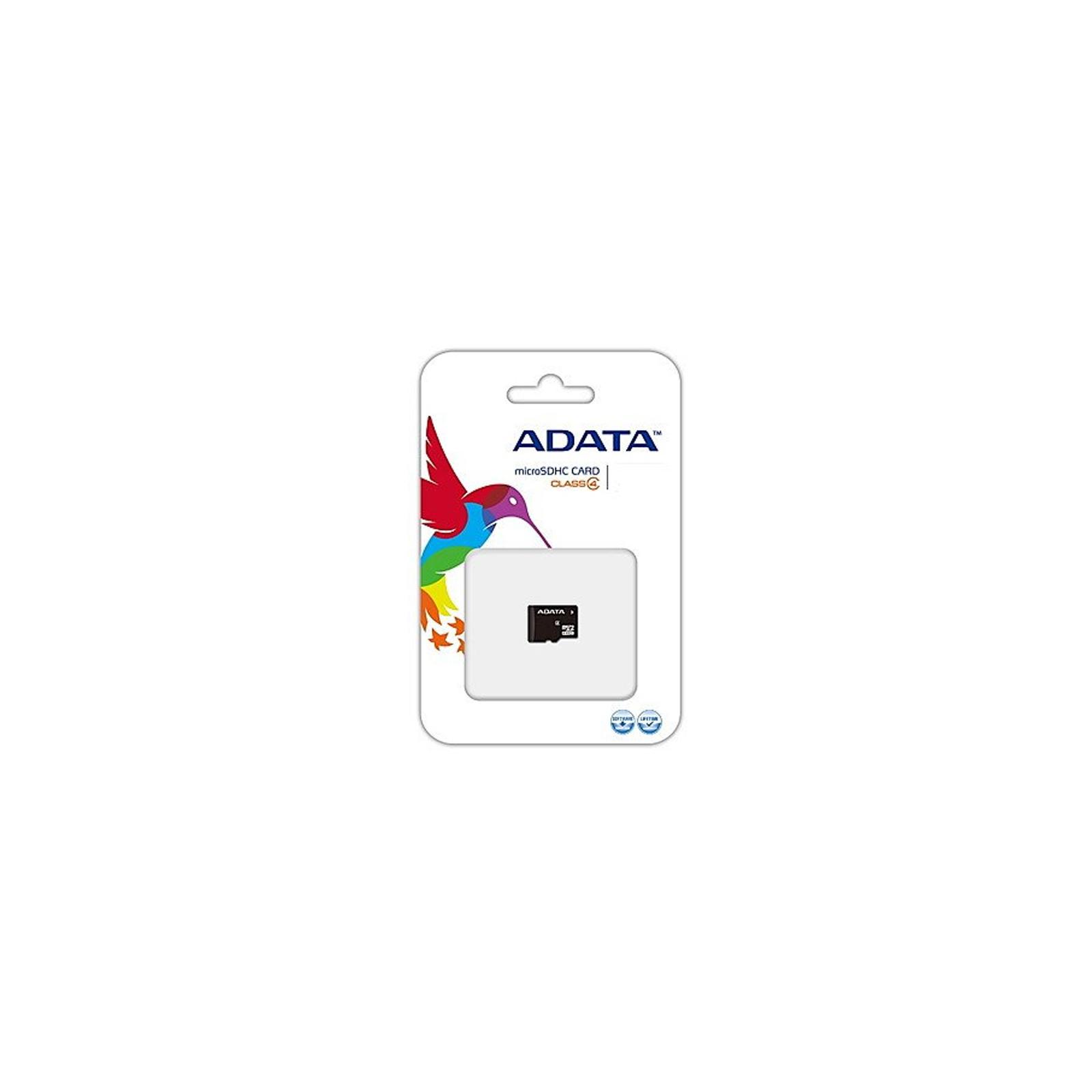 Карта памяти ADATA 16GB microSDHC Class 4 (AUSDH16GCL4-R) изображение 2