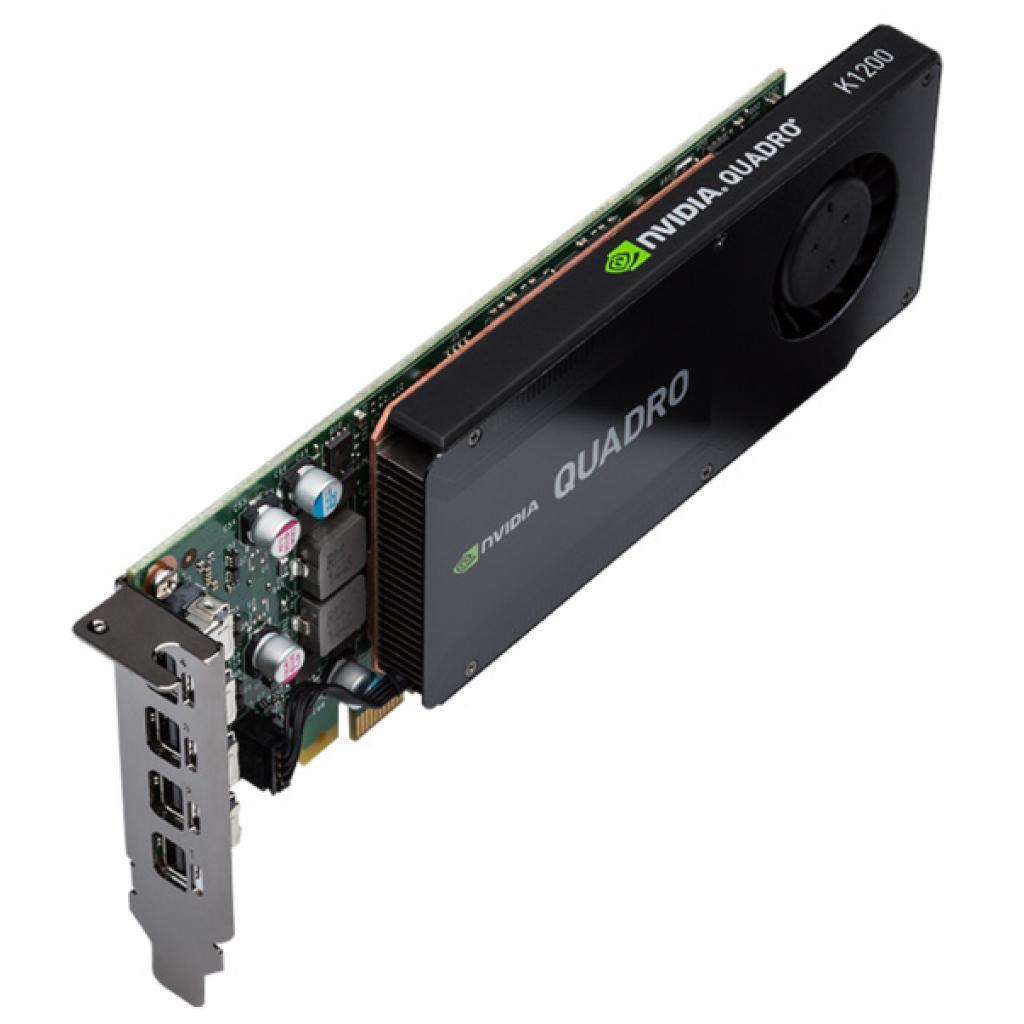 Видеокарта QUADRO K1200 4096MB PNY (VCQK1200DVI-PB) изображение 3