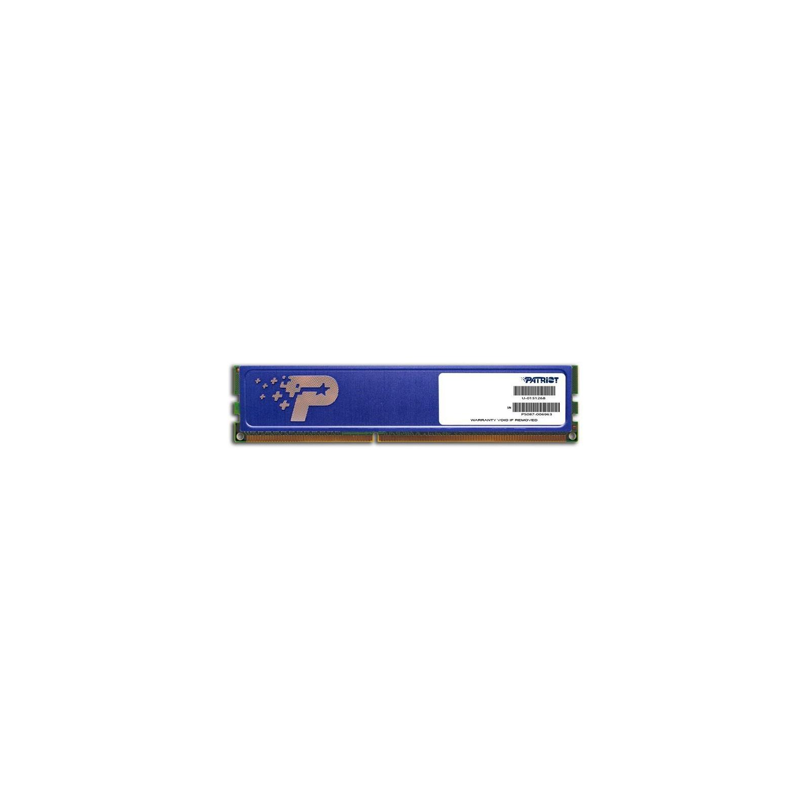 Модуль памяти для компьютера DDR3 4GB 1333 MHz Original Signature Patriot (PSD34G133381H)