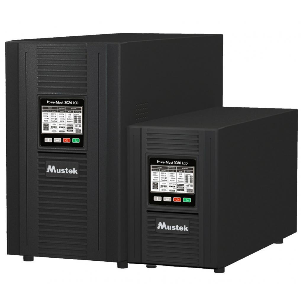 Источник бесперебойного питания Mustek PowerMust 3024 Online LCD (98-ONC-X3024)