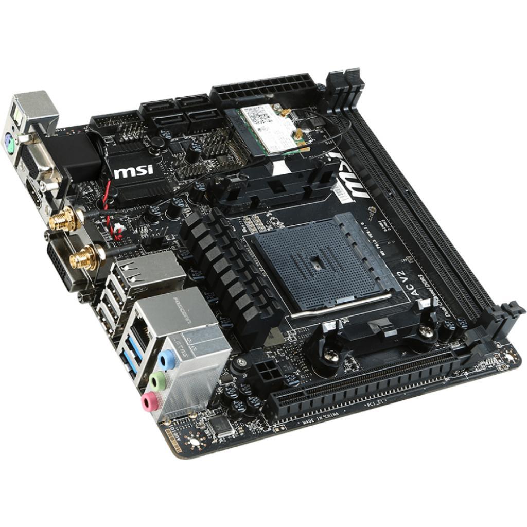 Материнская плата MSI A88XI AC V2 изображение 3