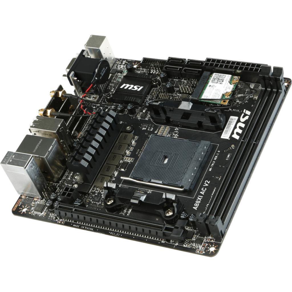 Материнская плата MSI A88XI AC V2 изображение 4