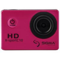 Экшн-камера Sigma Mobile X-sport C10 pink (4827798324240)