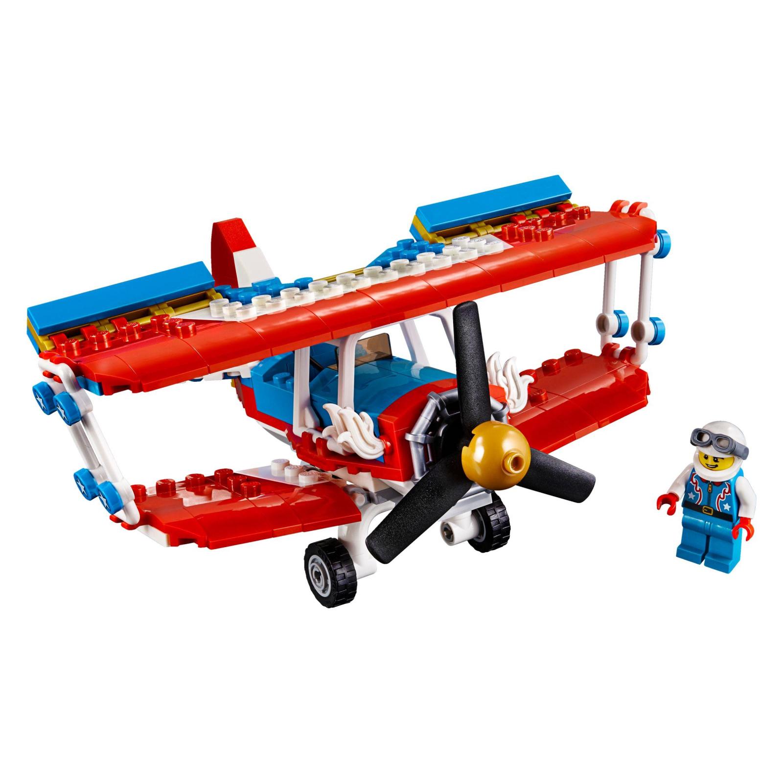 Конструктор LEGO Creator Бесстрашный самолет высшего пилотажа (31076) изображение 2