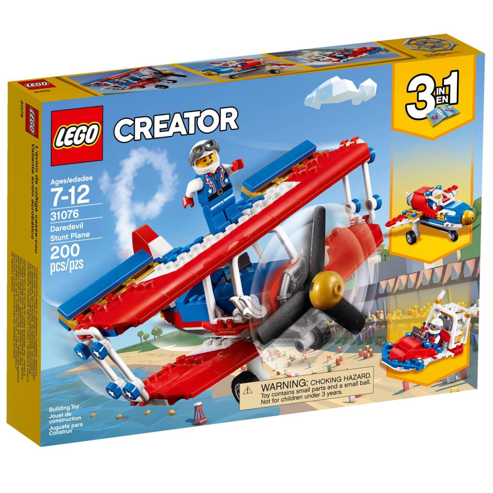 Конструктор LEGO Creator Бесстрашный самолет высшего пилотажа (31076)