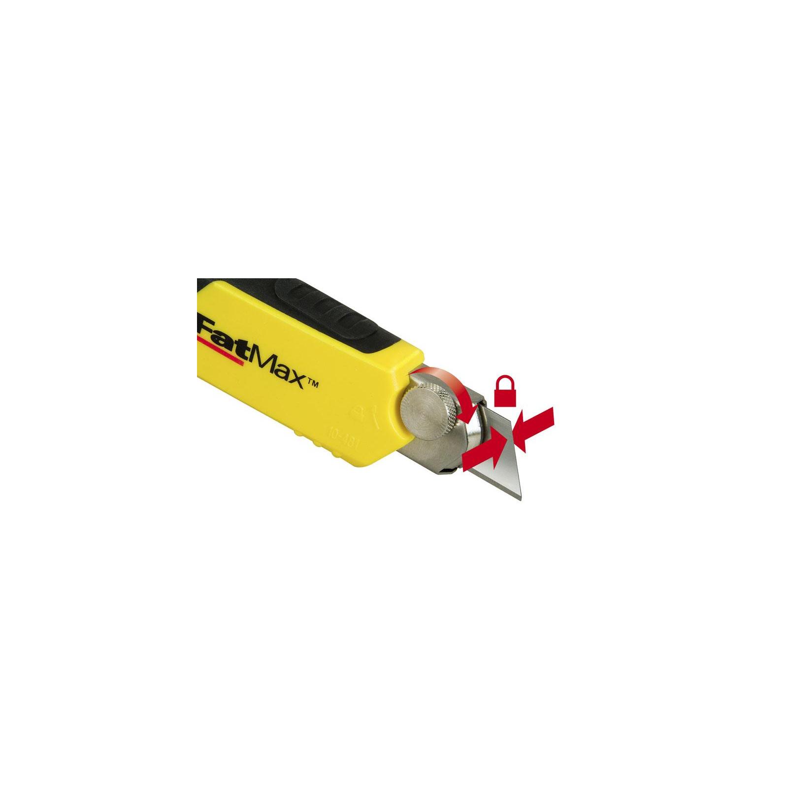 """Нож монтажный Stanley """"FatMax Cartridge"""" выдвиж. лезвие шириной 18мм, L=180мм. (0-10-481) изображение 4"""