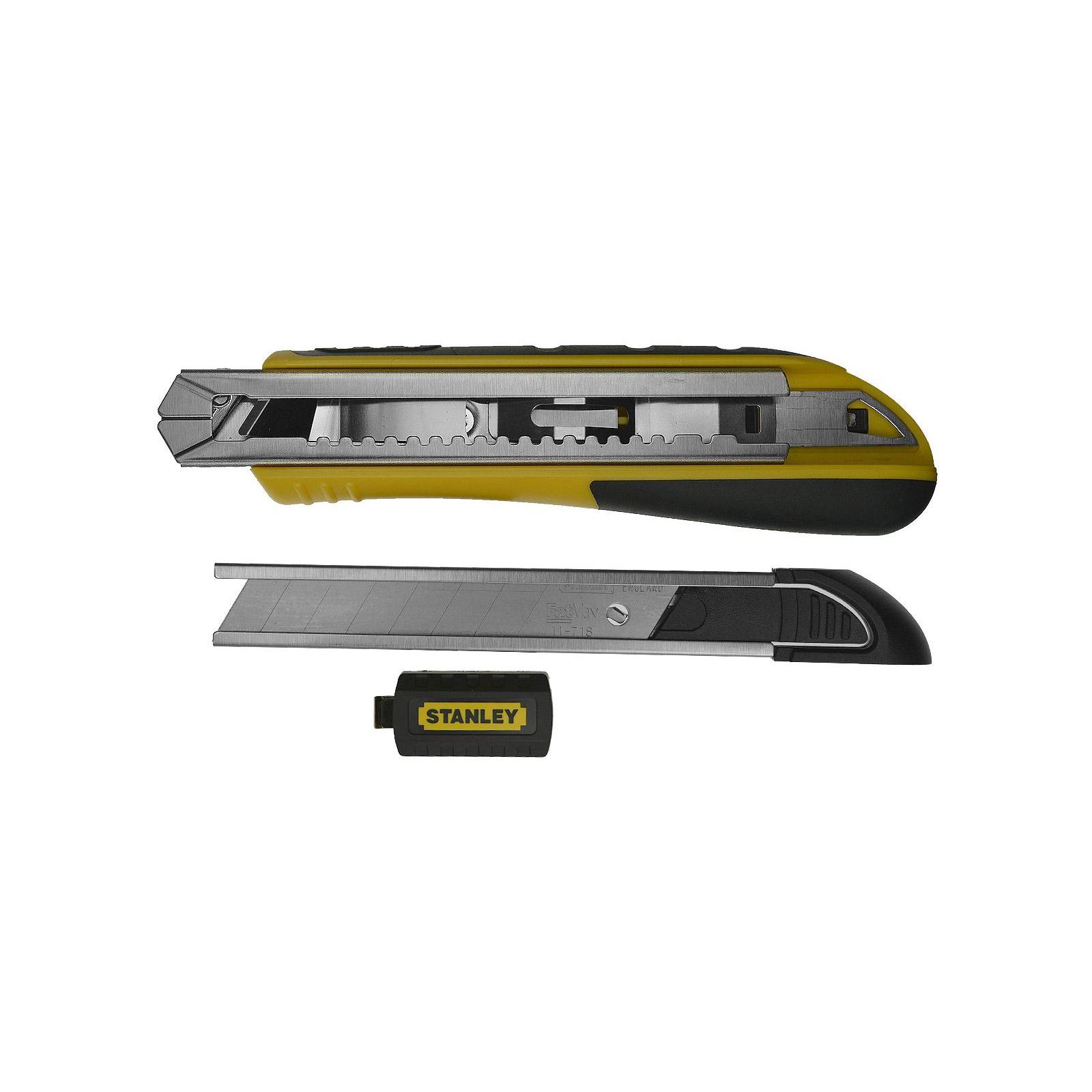 """Нож монтажный Stanley """"FatMax Cartridge"""" выдвиж. лезвие шириной 18мм, L=180мм. (0-10-481) изображение 5"""