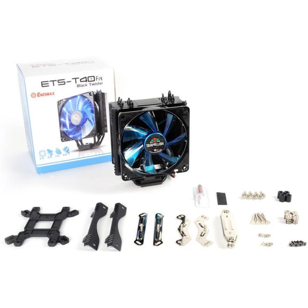 Кулер для процессора ENERMAX T40 Fit - AM4 Edition (ETS-T40F-BKA) изображение 5