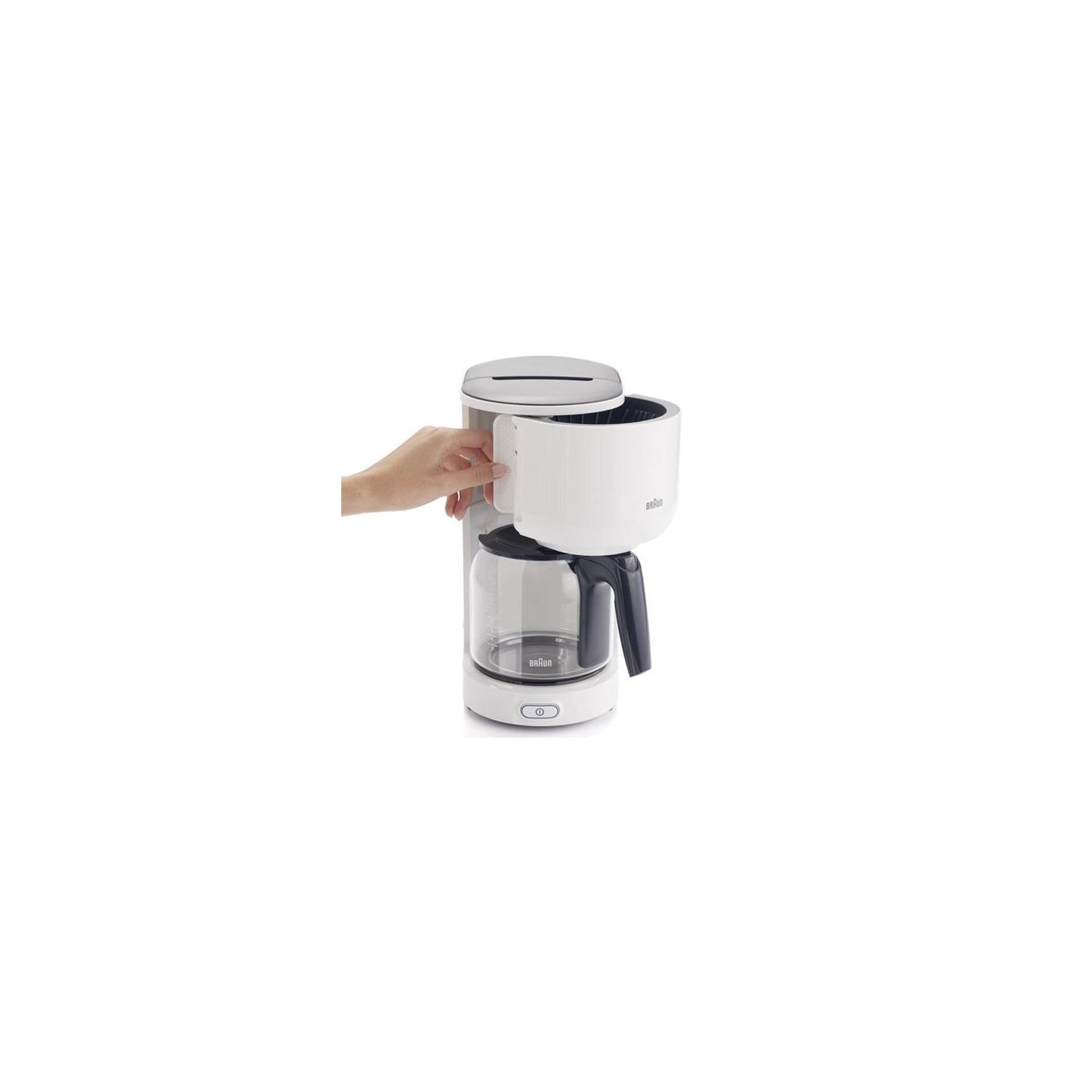 Кофеварка BRAUN KF 3100 WH изображение 3