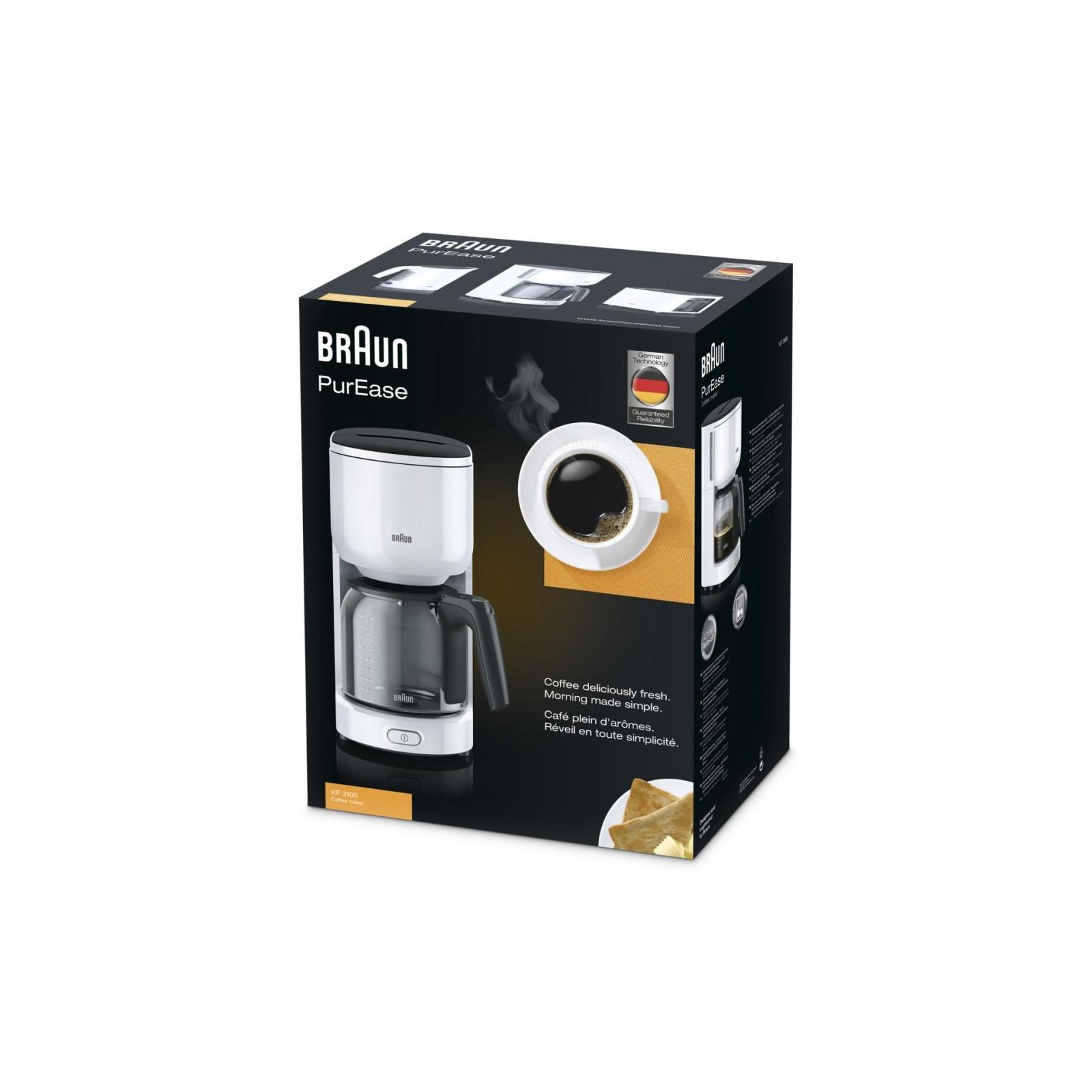 Кофеварка BRAUN KF 3100 WH изображение 4