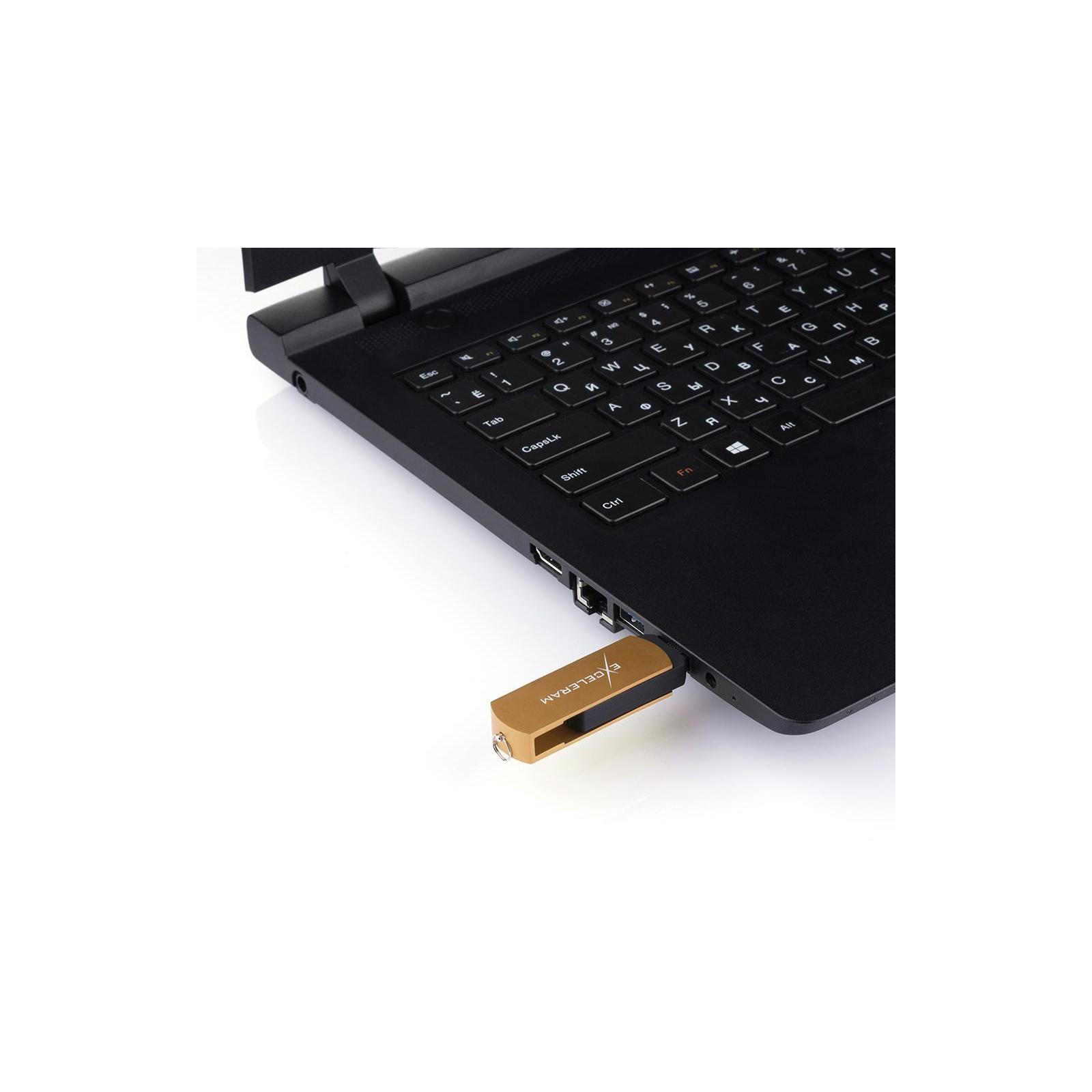USB флеш накопитель eXceleram 128GB P2 Series Red/Black USB 3.1 Gen 1 (EXP2U3REB128) изображение 7