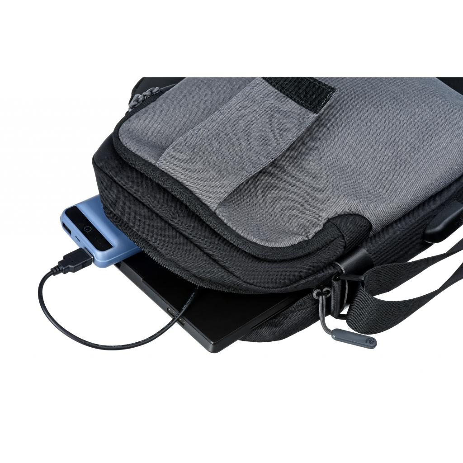 "Сумка для ноутбука 2E 10"" Supreme, Grey (2E-TBT9180BK) зображення 10"