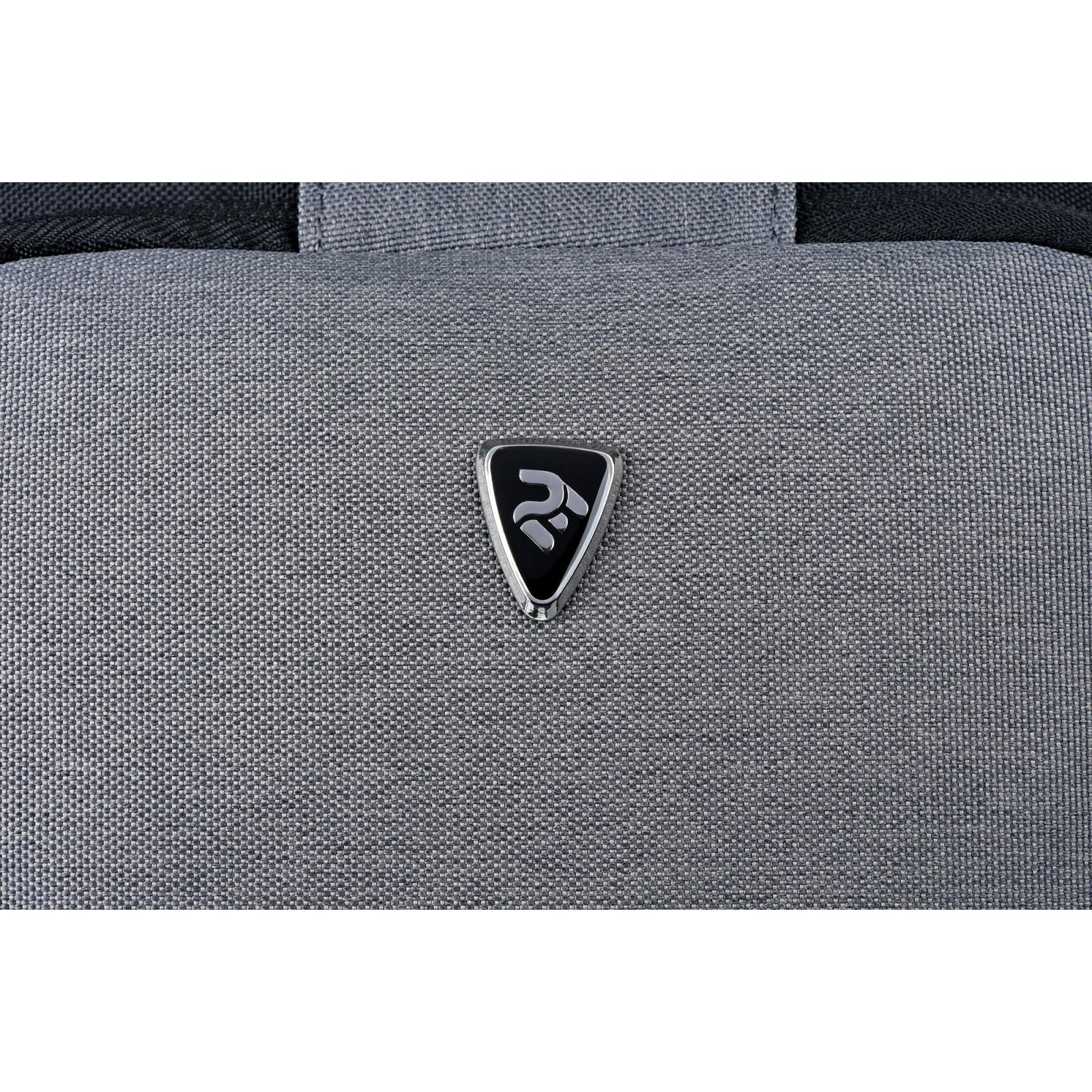 "Сумка для ноутбука 2E 10"" Supreme, Grey (2E-TBT9180BK) зображення 8"