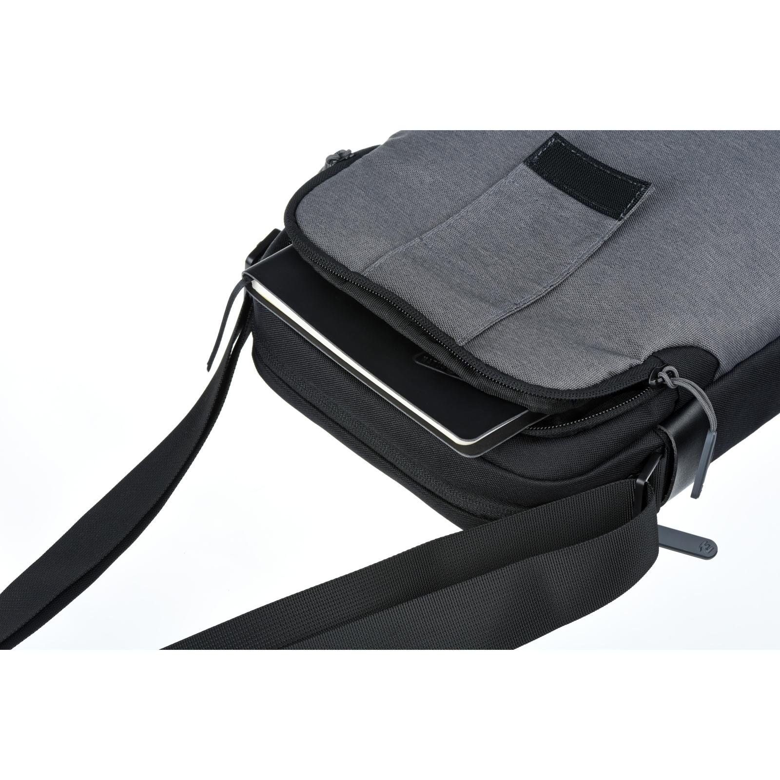 "Сумка для ноутбука 2E 10"" Supreme, Grey (2E-TBT9180BK) зображення 9"