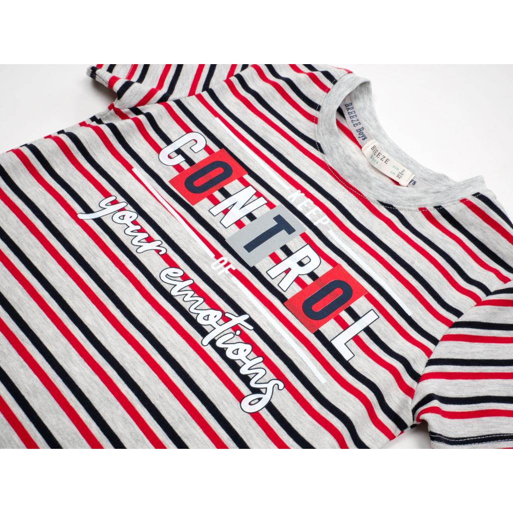 Набор детской одежды Breeze в полоску (15997-98B-red) изображение 7