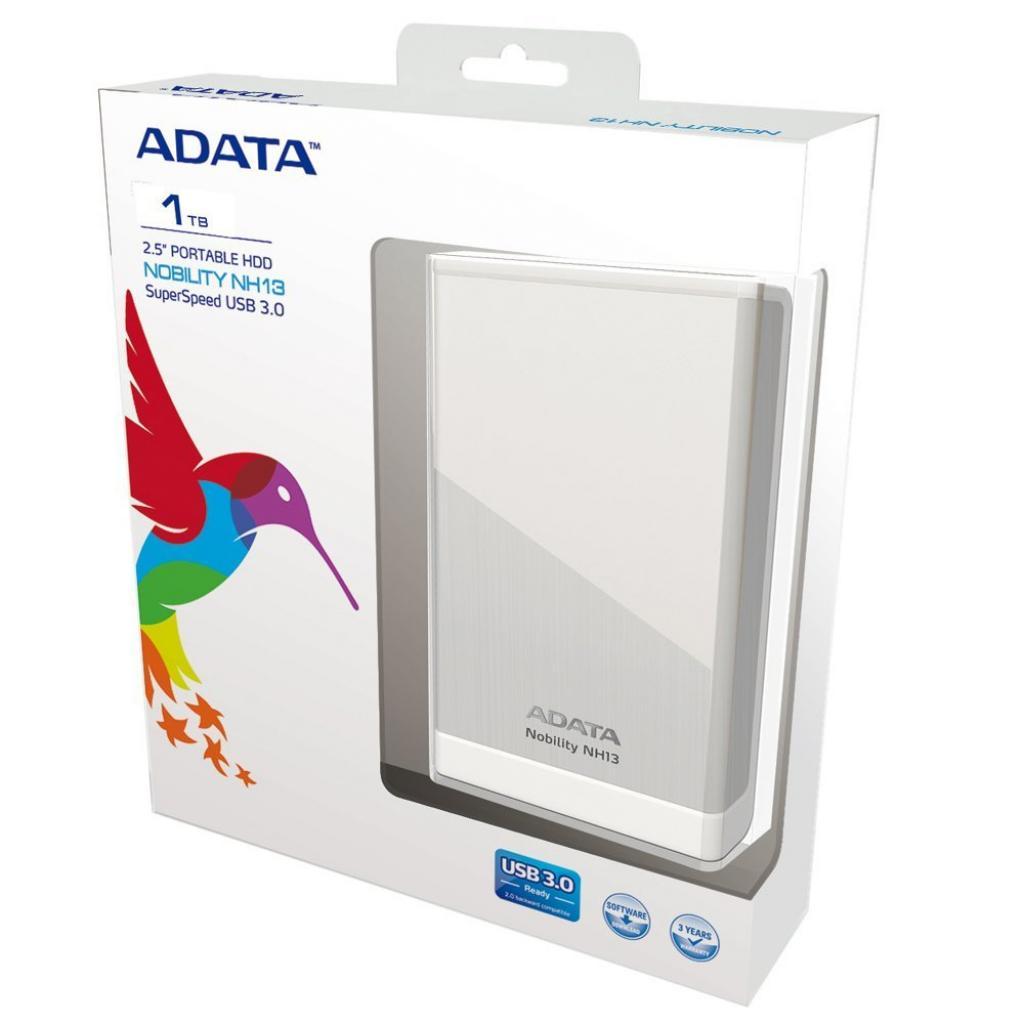"""Внешний жесткий диск 2.5"""" 1TB ADATA (ANH13-1TU3-CSV) изображение 3"""
