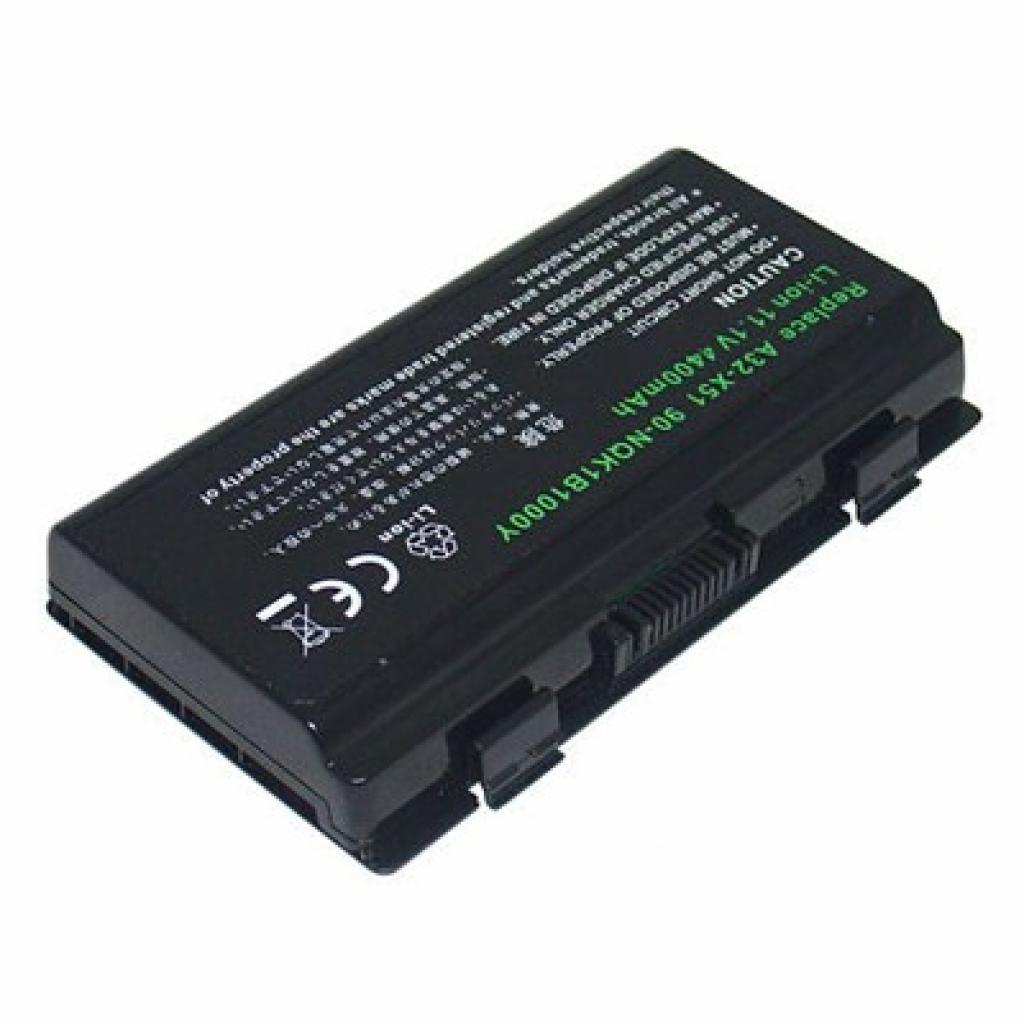 Аккумулятор для ноутбука Asus A32-T12 BatteryExpert (A32-T12 L 52)