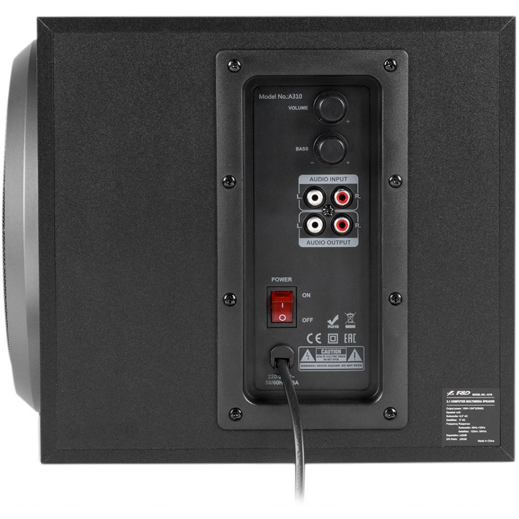Акустическая система F&D A-310 black изображение 4