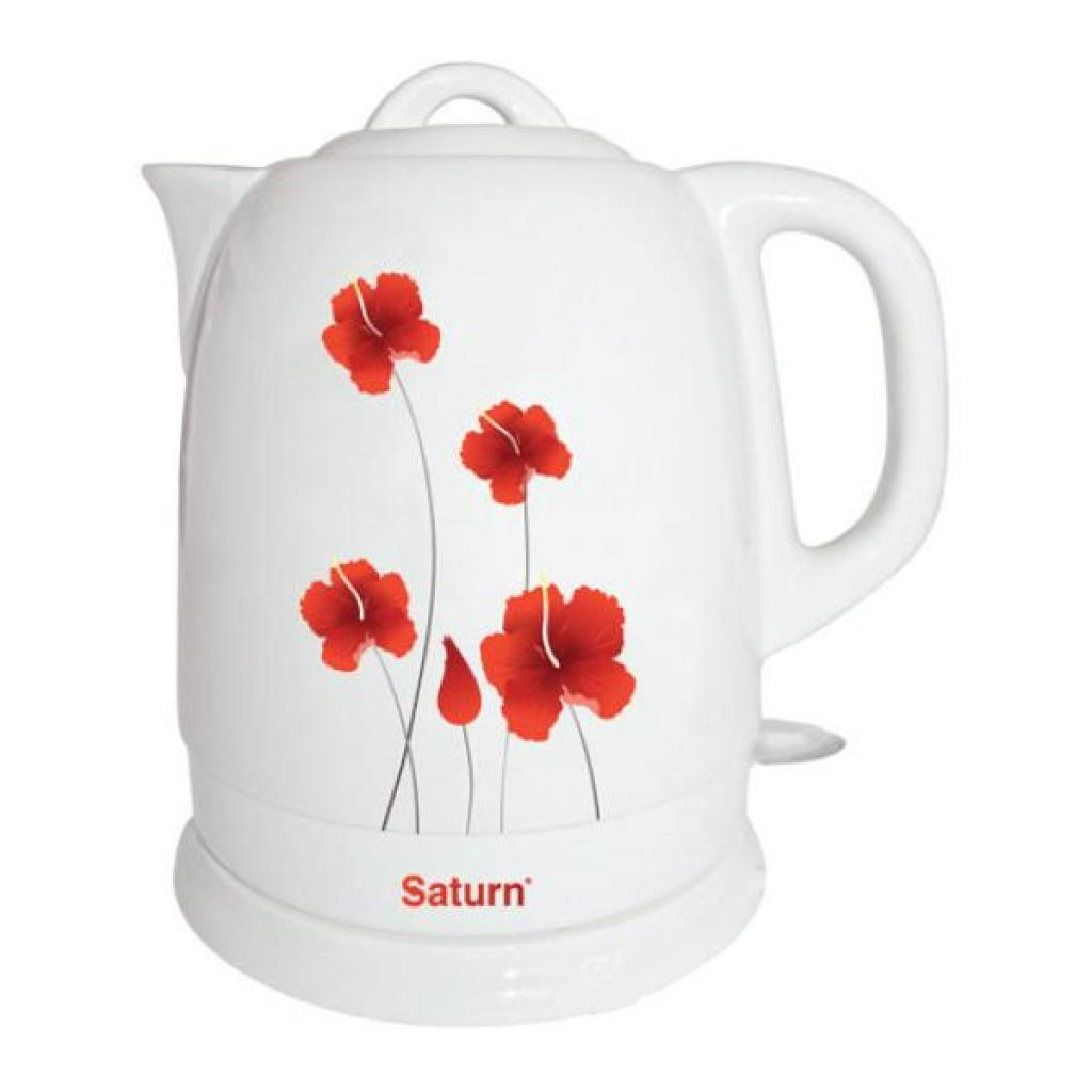 Электрочайник SATURN ST-EK8407_Poppy