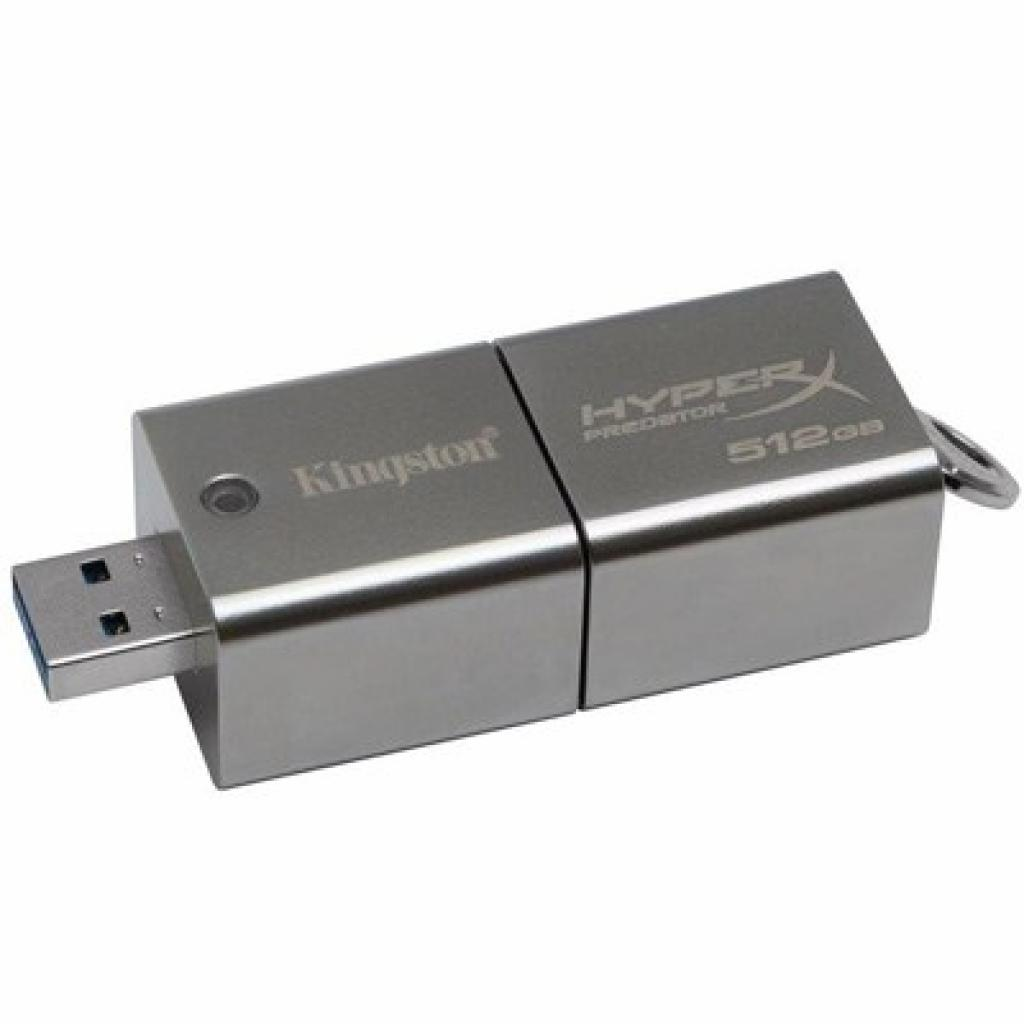 USB флеш накопитель Kingston 512Gb DataTraveler HyperX Predator (DTHXP30/512GB) изображение 2