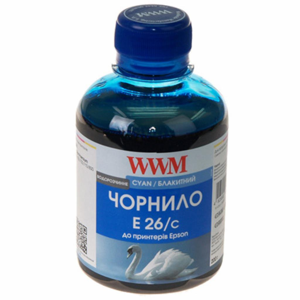 Чернила WWM EPSON XP-600/XP-605/XP-7005 (Cyan) (E26/C)