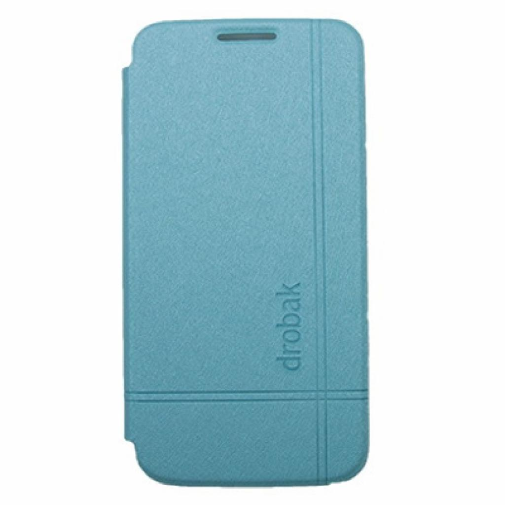 Чехол для моб. телефона Drobak для Samsung I9192 Galaxy S4 Mini /Simple Style/Blue (216025)