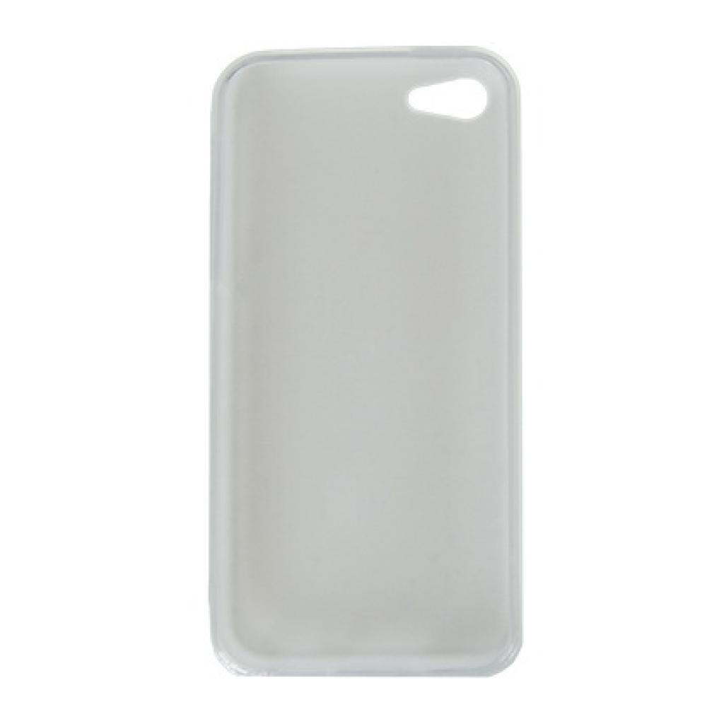 Чехол для моб. телефона Drobak для Apple Iphone 5c /Elastic PU/white (210240) изображение 2