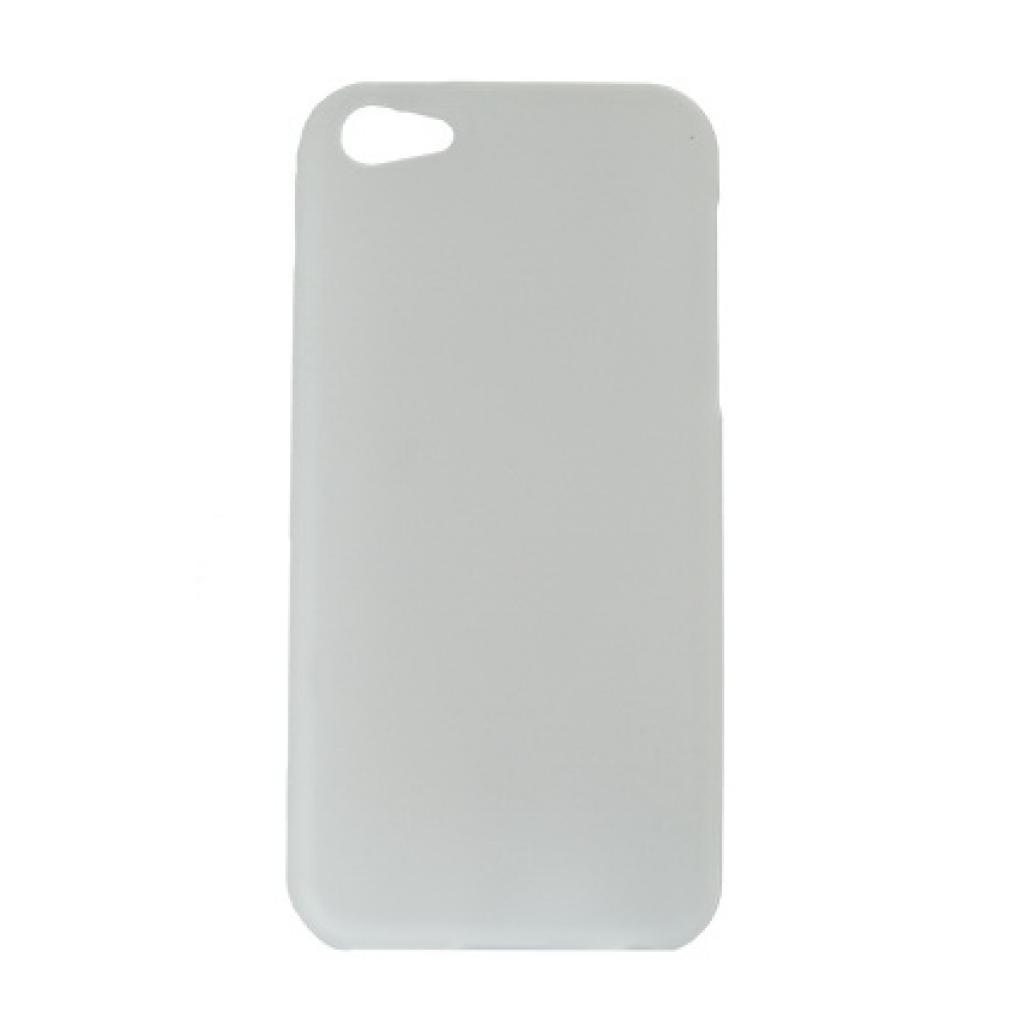 Чехол для моб. телефона Drobak для Apple Iphone 5c /Elastic PU/white (210240)